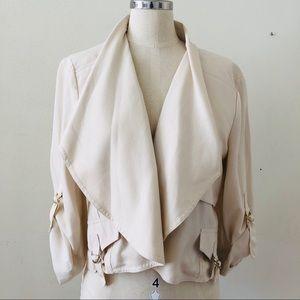 White BEBE jacket